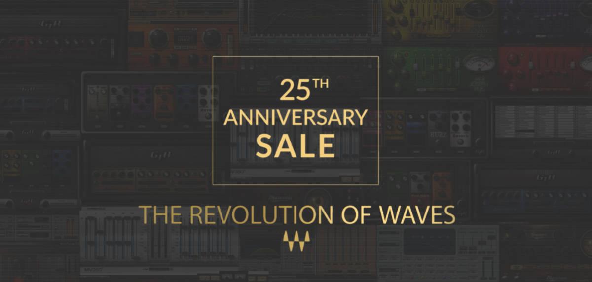 Waves 25th Universary
