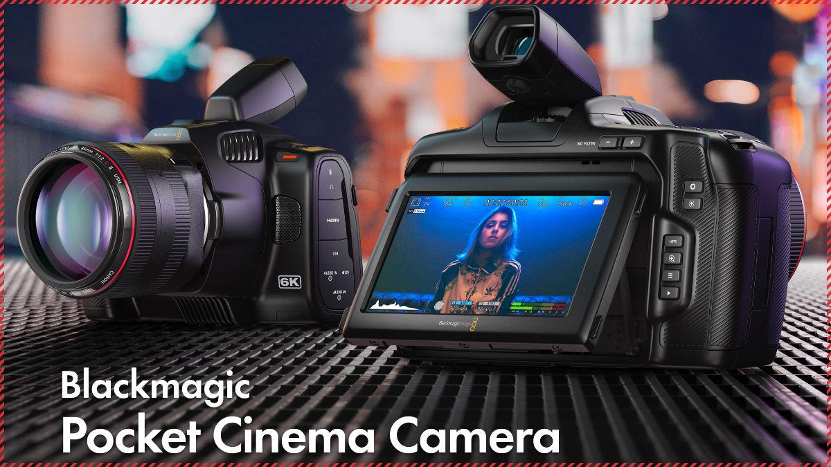 発表されたばかりの新型シネマカメラ「BMPCC6K Pro」。価格は税別283,800円。