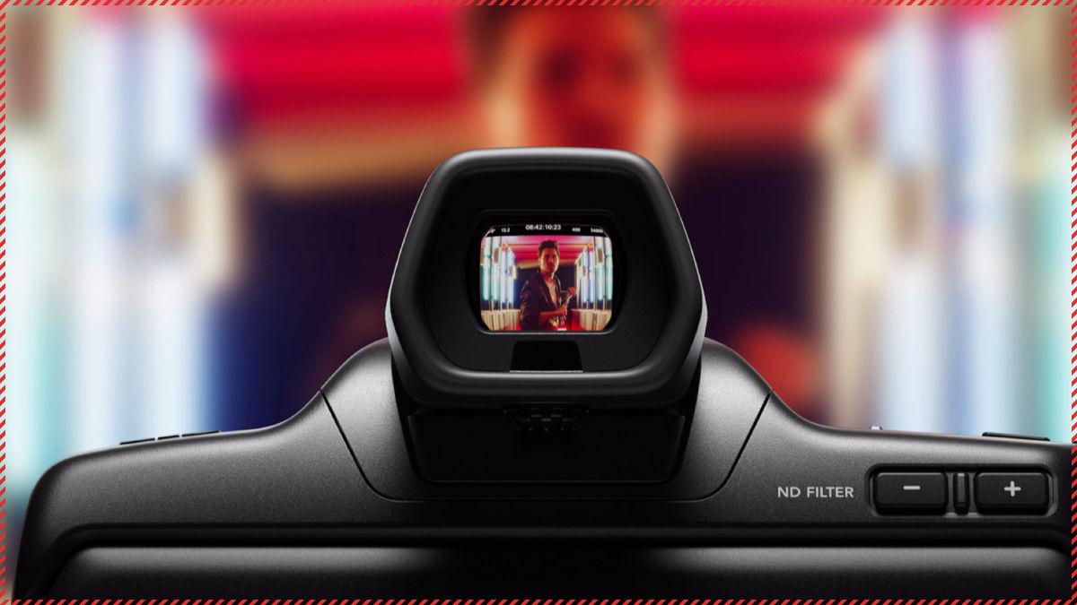 オプションとして登場した「Blackmagic Pocket Cinema Camera Pro EVF」。